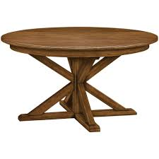gilcrest round dining table gvine ethan allen 56 round with leaf 74