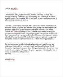 Best Solutions Of Resume Hospital Volunteer Volunteer Resume Sample