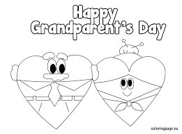 Small Picture Grandparents Day coloring sheets LetteringClipartGraphics