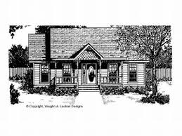 Country House Plans   The House Plan ShopLove Shack Home Plan  H