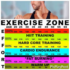 Aerobic Workout Heart Rate Chart To Determine Target Heart Rate Check Your Pulse Use This