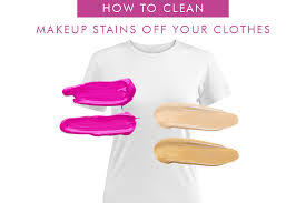 5 simple steps to get makeup foundation out of your clothes fast