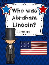 Abraham Lincoln Preschool Activities Presidents Day