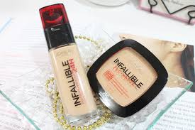 l oreal infallible stay fresh foundation pro matte powder review