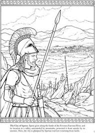 Small Picture Welcome to Dover Publications Life in Ancient Greece Coloring Book