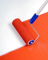 paint vinyl flooring with roller