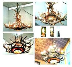how to make antler chandeliers how to make deer antler chandelier antler chandelier kit making a