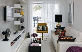 Living Room Designs For Small Rooms Ideas Apartment Living Room Design With White Leatherette