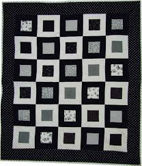 7 Best Black and White Quilting Patterns & Black and White Multi-Square Quilt Design Adamdwight.com