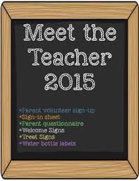 Super Cute Meet The Teacher Printables Welcome Signs Parent