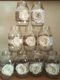 Decorating Mason Jars With Ribbon Mason Jar Cookies With Burlap And Lace Ways To Decorate Mason Jars 31