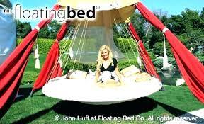 diy hammock bed round floating hammock bed hanging beds outdoor bedside organizer pattern awesome outdoor floating hammock bed
