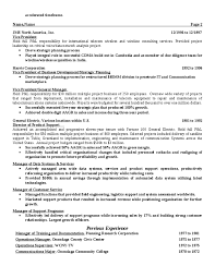 American Resume Template American Resume Examples Templates