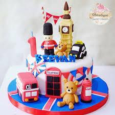 London Birthday Cake Kid Party London In 2019 London Cake Cake