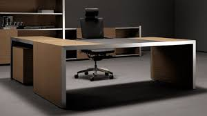 modern oikos lshaped desk with panel leg  encino hudson  zuri