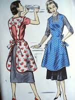 Vintage Apron Patterns Stunning VINTAGE APRON PATTERNS