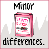 Minor Differences - The Oatmeal