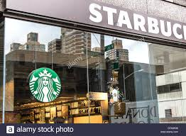 starbucks store sign. Fine Sign A Starbucks Store Window  Stock Image For Store Sign T
