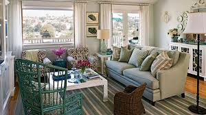 coast furniture and interiors. coastal cottage living rooms with patterned chairs coast furniture and interiors