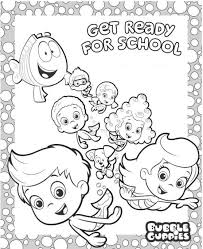 Small Picture Preschool Bubble Guppies Coloring Pages Cartoon Coloring pages