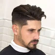 Mens Comb Over Hairstyle Modern Fade Haircut Modern Comb Over Haircut Fade Ngerimbat