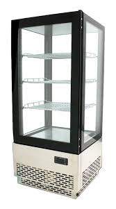 countertop refrigerated display with 78 l capacity