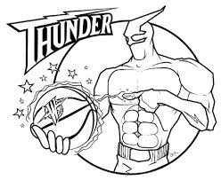 American Sports NBA Coloring Pages - Womanmate.com