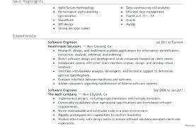 Resume Profile Example Resume Profile Example Example Of Personal