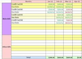 Excel Credit Card Tracker Template Best Of Medical Bill Organizer