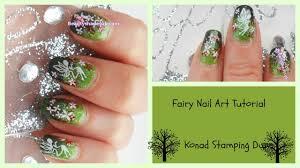 Fairy Nail Art Tutorial (konad m35 dupe) - YouTube