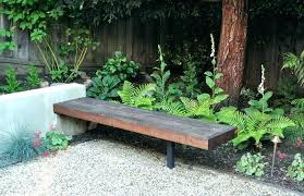 small outdoor benches small outdoor bench decorative benches wooden outside table wood concrete garden for the