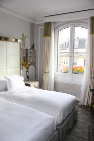 Modern And Luxurious Twin Deluxe Room At Hilton Paris Opera. Image © Skye  Gilkeson