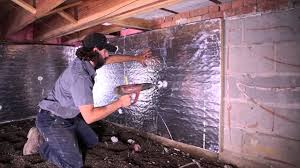 solving crawl space mold problems in michigan crawl space encapsulation on the handyman show you