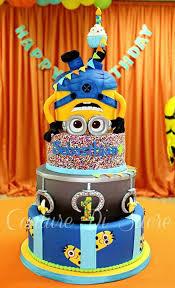 10 Amazing Minion Birthday Cakes Pretty My Party Party Ideas