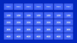 Jeopardy Powerpoint Template Best Download Now 48 Jeopardy Game Template Build Your Own Version
