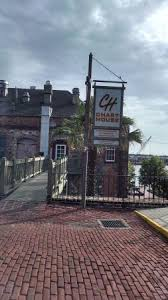Bay Street Entrance Picture Of Chart House Savannah