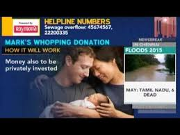 「Mark Elliot Zuckerberg announced donation」の画像検索結果