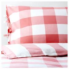 red gingham cot bed duvet cover sweetgalas