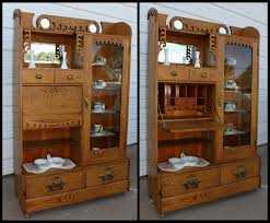 Dish Display Cabinet Jeannes Antiques Crofton Nebraska