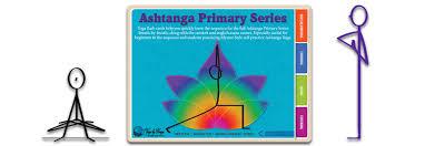 ashtanga primary series yoga flash cards book