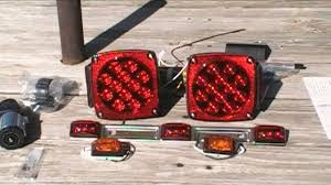 16 foot trailer rehab project part 8 wiring and led lighting you rh you com how to wire led trailer lights australia how to wire led trailer lights