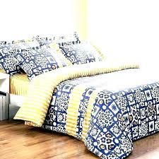 navy blue and yellow comforter sets duvet cover queen en bedding d