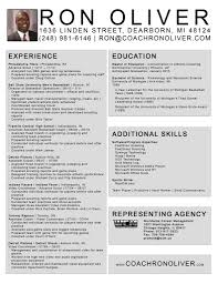 Coaching Resume Example Football Coaching Resume Template Resumes And Cover Letters 9