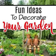 fun garden decoration ideas