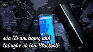 Khắc phục âm thanh nhỏ khi kết nối Điện thoại với Tai nghe Bluetooth, tai  nghe True Wireless và Loa - YouTube