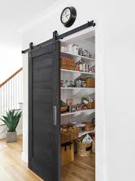kitchen pantry design. mid-sized traditional kitchen pantry photos - example of a classic light design