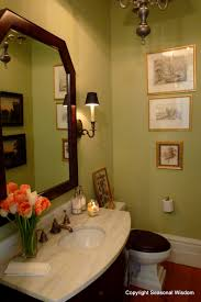 guest bathroom at p allen smith s home