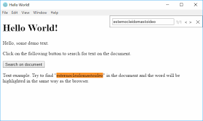 The Word Menu How To Enable The Search Menu To Quickly Find A Word Or