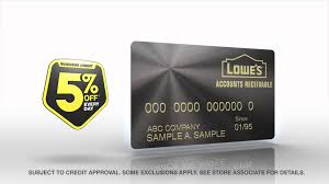 Lowes Commercial Credit Card Application Lowes Accounts Receivable Business Credit Youtube