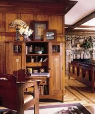 home of gustav stickley arts crafts home office